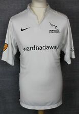 #10 NEWCASTLE FALCONS AWAY RUGBY SHIRT NIKE MENS LARGE RARE PLAYER ISSUE ?