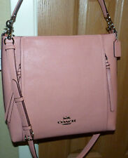 NWT'S COACH MARLON HOBO PEBBLED LEATHER STURDY PURSE HANDBAG PEACH PINKISH 79994