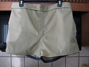 1960s 1970s JC Penney men's large short swim suit swimming trunks new old stock