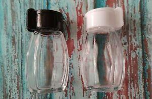 Set Salzstreuer & Pfefferstreuer Gewürze Streuer Dose Spender Glas mit Deckel