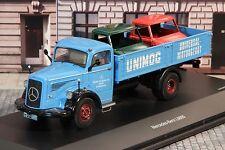 Schuco 03026 MB L6600 Gaggenau 2 x Unimog-Kabine 1/1000