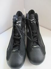 NIKE PROTOTYPE/SAMPLE ZOOM AIR CLEATS BLACK/WHITE/SILVER SIZE 10 UNUSED MINT