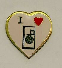 """New listing Vintage General Electric Ge """"I Heart Refrigerator"""" Lapel Pin"""