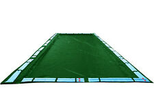 NO RESERVE AUCTION >30'x50' Inground Winter Swimming Pool Cover 15 Yr Wrnty RECT