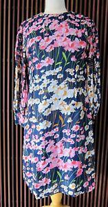 Vintage MAXINE Floral Dress, Multicolour