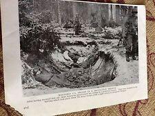 m11f ephemera ww2 picture 1940s wingen u s troops in trench