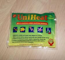 Uniheat 72+ horas Calentador de envío paquete térmico