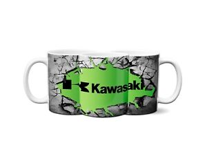 Kawasaki Smashed Brick Style Mug / Prefect Gift