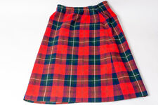 Pendleton Plaid Wool Skirt Womens Size 12