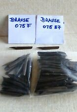 Lot of 155 vintage nibs from BRAUSE Germany # 075F and 075EF  - dip ink pen