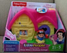 FISHER PRICE LITTLE PEOPLE DISNEY PRINCESS SNOW WHITE'S KINDNESS COTTAGE FKW16