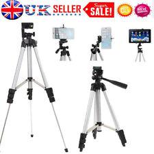 Professional Camera Phone Tripod Stand Holder For iPhone iPad Samsung Galaxy UK