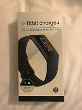 Fitbit Charge 4 Wristband Activity Tracker - Black - New in Box - Large/Small