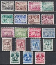 Indonesia Scott 402-420 VF MH 1950 Collection of Commemorative Sets