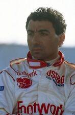 Michele Alboreto Footwork F1 Ritratto Fotografia 1992
