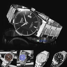 New Mens Watch Stainless Steel Band Date Analog Quartz Sport Wrist Watch Army Jи