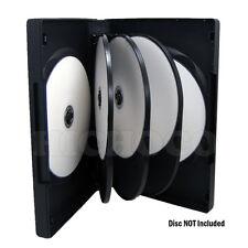 20 ct Multi 8 Disc CD DVD Black Case Movie Game Box 27mm