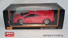 Maisto Special 1994/1995 Lamborghini Diablo SE Coupe V12 Red w/Black 1/18 MINT!