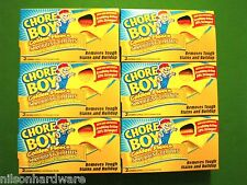 12 Piece Golden Fleece Chore Boy Scouring Cleaning Cloths Pads Box 00217