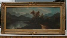 A LARGE 19th CENTURY LANDSCAPE SIGNED W COLLINS