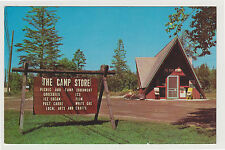 Chrome Camp Store, Straits State Park, St Ignace MI, 1960s Michigan