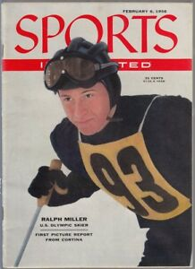 Sports Illustrated 1956 Ralph Miller Olympic Skier No Label