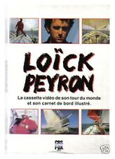 LOICK PEYRON CASSETTE VIDEO ET LIVRE TOUR DU MONDE TBE