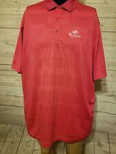 Nike Golf Tour Performance Dri-Fit Red Polo Men Renaissance Shirt Size Xl