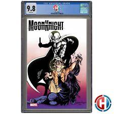 MOON KNIGHT #1 SIENKIEWICZ 1:100 VARIANT CGC Graded 9.8 PRESALE 6/2/21 Marvel