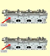 2 NISSAN 3.0 DOHC V6 300ZX CYLINDER HEADS NON TURBO 1990-1992 CASTING#30P ONLY