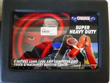 JUMPER LEADS H/DUTY 1000AMP COMPUTER SAFE