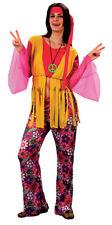 Anni 70 60s Fancy Dress Hippy Hippie Woman Lady 10 12 14