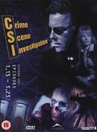 C.S.I. - Crime Scene Investigation - Vegas - Series 1 - Vol.2 (DVD, 2002, 3-Disc