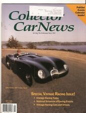Collector Car News  May 1992 - Vintage Racing Issue - Triumph Racers