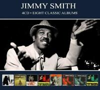 JIMMY SMITH - 8 CLASSIC ALBUMS  4 CD NEW!