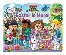 Fisher-Price Little People Easter Is Here! (Lift-the-Flap)-ExLibrary