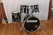 """Vintage early 80's Ludwig Rocker Kit. 4 Ply maple. """"Made in U.S.A."""".22,12,13,16"""