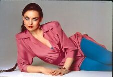 Original 35mm slide Chrystal Gayle. From the Miss the Mississippi photoshoot