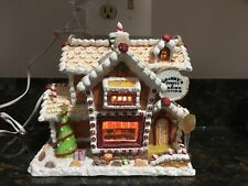 Lemax Sugar N Spice 2004 Granny's Sweets & Baked Goods Porcelain Lighted House.