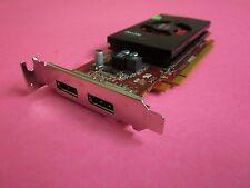 Dell AMD FirePro W2100 2GB GDDR3 2xDisplay Port Video Graphics Card 2P8XT