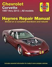 Haynes CHEVROLET CORVETTE (97-13) C5 C6 Owners Service Workshop Manual Handbook