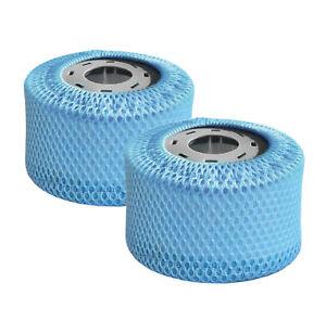 2 Stück Whirlpool Ersatzfilter für MSPA Pool Filter inkl. Netz Filterkartuschen