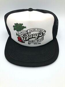 Black Vintage Mesh 80s Snapback Snap Back Trucker Vtg Baseball Cap Caps Hat Hats