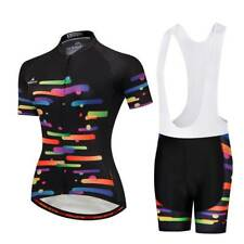 Ladies Cycling Clothing Kit Women's Cycle Jersey Top Padded (Bib) Shorts S-5XL