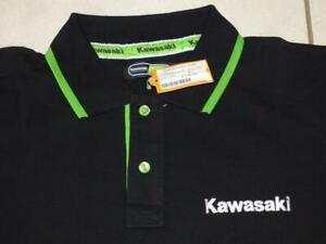 Brand New Kawasaki Motorbike Apparel polo shirt top. Size 2XL, XXL