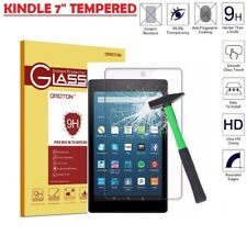 """GENUINE TEMPERED GLASS SCREEN PROTECTOR FILM FOR KINDLE FIRE HD 7"""" 2017 2018"""