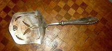 Superbe pelle à asperge en Métal Argenté Méneses Art Nouveau Spain silver plate