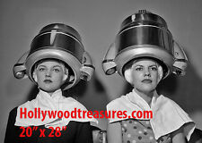 "Hair Salon~Spa~Photo~Decor~Retro~Stylist~1950's~Poster~20"" x 28"""
