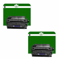 2 Toner Cartridges for HP Laserjet P3015 P3105D P3015DN P3015X non-OEM 255X