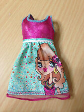 Barbie Doll Fashionista Swappin' Style Outfit Dress Cutie My Scene Girl Face